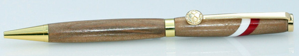 Red_And_White_Slimline_Pen_made_from_pear