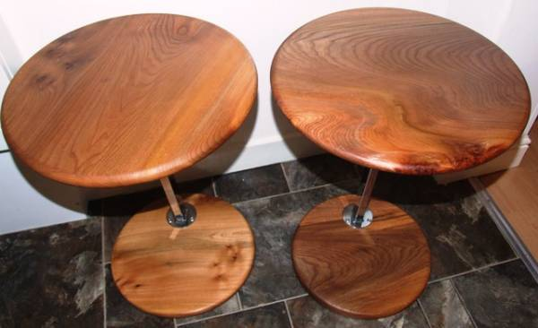 WYCH ELM LAP TOP TABLES