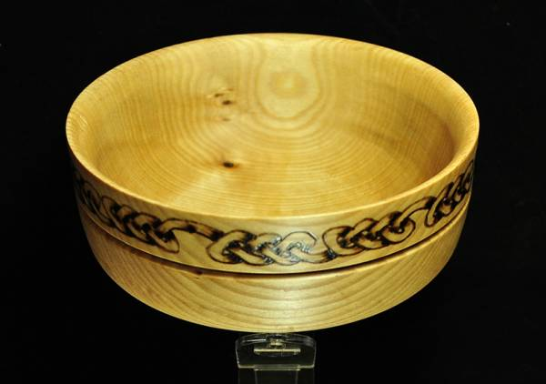 Celtic knot 5 inch Sycamore Bowl